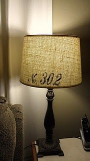 So doing this to my new lamp ~Raquel