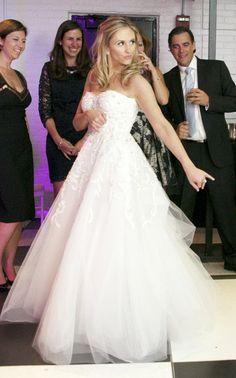 Monique Lhuillier Creme Brulee Wedding Dress