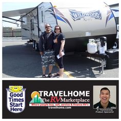 Congratulations to Ryan & Teresa on the purchase of their Wildwood XLT 231RKXL #traveltrailer from Al! #travel #Travelhome #wildwoodrv #rving #forestriverrv #camping #vacation