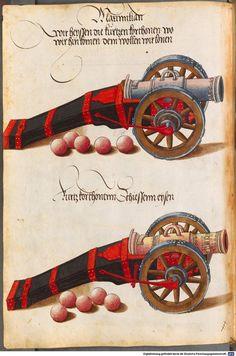 Zeugbuch Kaiser Maximilians I Innsbruck, um 1502 Cod.icon. 222  Folio 37v