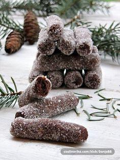 """Potrebni zimi definitivno!;) Nećete im moći odoljeti! (postoji vrlo sličan recept """"čokoladni štapići"""" razlika u sitnicama) Sretni vam blagd..."""