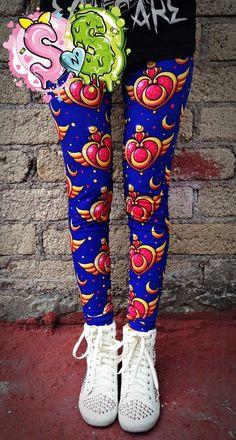 Sailor Moon Crisis Leggings | 17 Leggings Every Nerdy Girl Needs In Her Life