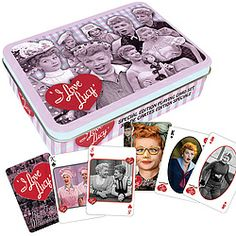 Collectible tin and 2 decks of cards!