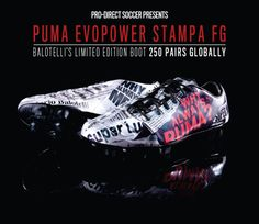 Pro-Direct Soccer - New PUMA Limited Edition evoPOWER Stampa Football Boot, Cleat