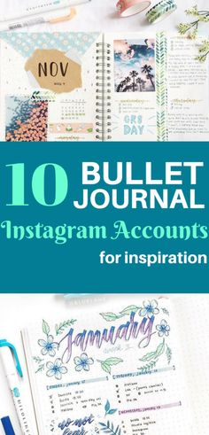 10 Bullet Journal Instagram Accounts Worth Following - Natalie Linda