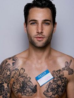#tattoo #chest  #sexy #guy