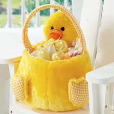 Chick Plush Friend Easter Basket $29.99           Now $20.99