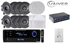 Other Home Stereo Components: New Vaiyerkits Home Theater System (8) 150W 5.25 In-Wall In-Ceiling Speakers -> BUY IT NOW ONLY: $295.7 on eBay!