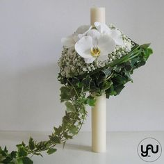 Gypsophila, Wedding Ceremony Flowers, Baby Christening, Floral Design, Candle Holders, Candles, Contemporary, Artist, Diana