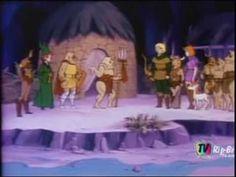 Caverna do Dragão Episódio 06 - A Bela e a Fera do Pantano - Completo Du...
