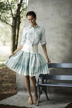 Dreamwalk Skirt | Aussie Afternoon Collection by Shabby Apple
