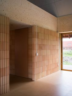 Lenschow & Pihlmann . House on Fanø . Nordby afasia (10) | a f a s i a Vernacular Architecture, Contemporary Architecture, Architecture Details, Interior Architecture, Interior Exterior, Interior Design, Tree Interior, Cozy Living Spaces, Long House