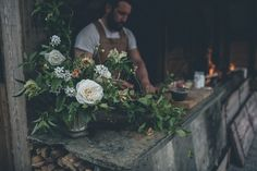 Flowers and Feasting — The Garden Gate Flower Company