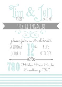 #engagementannouncement #weareengaged #heaskedshesaidyes #indianwedding Perfect Wedding, Our Wedding, Dream Wedding, Wedding Ideas, Bff Day, Engagement Announcements, Engagement Party Invitations, Be True To Yourself, Daughters