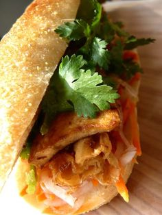 Bánh Mì with Lemongrass Ginger Tofu #vegan #recipe #yummy