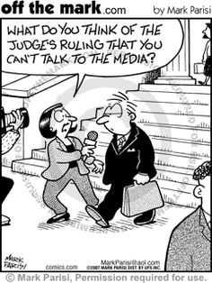 Typical media reporter ... #lawyer #funny