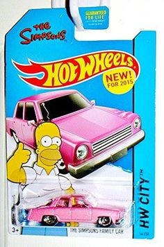 Hot Wheels 2015 HW City The Simpsons Family Car Die-Cast Vehicle #56/250 http://order.sale/RSqc