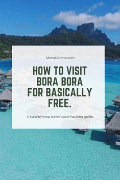 Travel Info, Travel Guides, Travel Tips, Travel Hacks, Travel Goals, Budget Travel, Places To Travel, Travel Destinations, Trip To Bora Bora