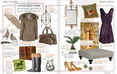"""Jane's """"Gosford Park"""" Wish List! (Matchbook Oct. '11)"""