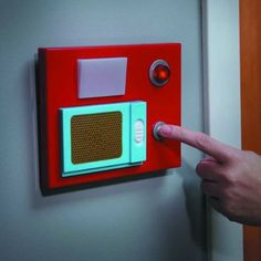 Star Trek Electronic Door Chime: Modeled after the communicator panels on The Original Series