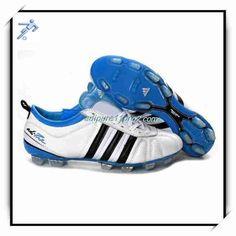 huge discount b2825 d71d2 Football Cleats Shoe Size 11Pro 2 Adidas Adipure IV Trx FG White Black Blue