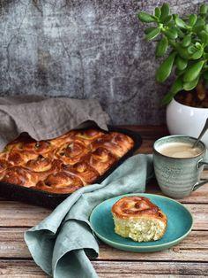 Chinois - francouzský máslový koláč Waffles, Food And Drink, Breakfast, Desserts, Morning Coffee, Tailgate Desserts, Deserts, Waffle, Postres