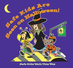 Parents and drivers both need to do their part to help kids stay out of the emergency room on Halloween. Emphasize safe pedestrian behaviors to kids before they go out trick-or-treating.