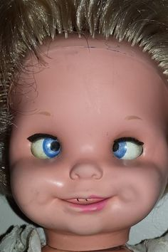 <b>These dolls from the '60s and '70s are the stuff nightmares are made of.</b>