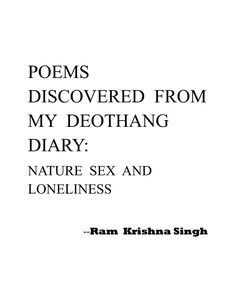 Poems rksingh