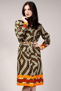 Club Print Dress
