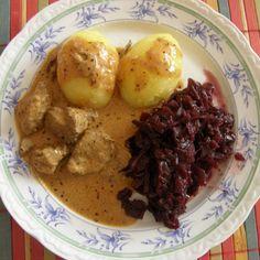 Rezept Hirschgulasch (m. orig.) von matschi74 - Rezept der Kategorie Hauptgerichte mit Fleisch