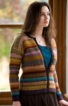 not your usual Fair Isle colours