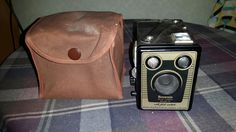 A lovely vintage box brownie camera
