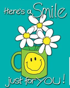 Here's a smile just for you. Good Morning Greeting Cards, Good Morning Messages, Good Morning Wishes, Love You Mom Quotes, Thinking Of You Quotes, Hugs And Kisses Quotes, Hug Quotes, Good Morning Beautiful Gif, Good Morning Good Night