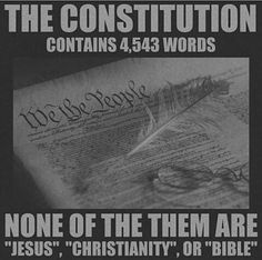 Separation Of Church & State Is In There Too...
