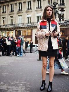 Street Muses...Stella McCartney Autumn/Winter 2015...PFW, Paris