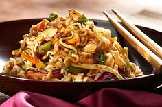 You have to try this....we call it Crack Salad aka Crunchy Asian Salad recipe - Click for Recipe