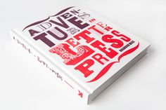 Neues Buch über Letterpress »Adventures in Letterpress« von Brandon Mise« #book #typography
