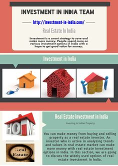 Investment Option in India is a firm that is dealing in the Real estate market in India. We deliver services to all those builders, NRIs, investors, property dealers, business oriented person who want to invest their money in Property market in India. Investment In India, Smart Strategy, Real Estate Investing, Make More Money, Real Estate Marketing, Investors, Logo, Business, Logos