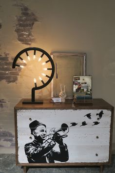 Groovy table light.  A.R.T. Furniture- Epi Centers, Williamsburg High Point Furniture Market Spring 2015