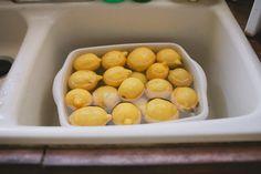 Tidy lemons.