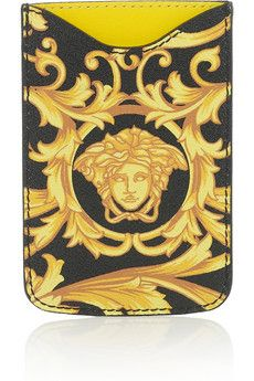 VERSACE  Printed PVC iPhone case
