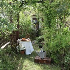 Garden Tips .Garden Tips Garden Nook, Garden Cottage, Balcony Garden, Back Gardens, Small Gardens, Amazing Gardens, Beautiful Gardens, Magical Gardens, Patio Interior