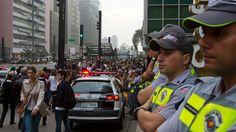 Protestos em São Paulo -