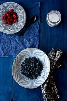 Les desserts simples : petits nids de fruits rouges et sorbet fraise et basilic | Christelle is Flabbergasting