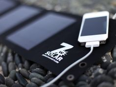 Folding USB Solar Cell by Brown Dog Gadgets, via Kickstarter.  An inexpensive, easy to use, practical, every day solar USB system.