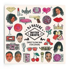 dj hasebe BUTTER SMOOTH Sweet Slow Jam for Lovers naijel graph ナイジェルグラフ