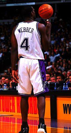 Chris Webber-Sacramento Kings  4 Baskets b8371bfcf