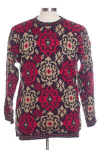 Multicolor Ugly Christmas Pullover 29392