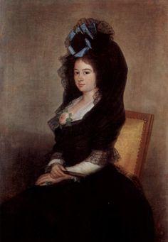 Goya: Portrait of Narcisa Baranana de Goicoechea
